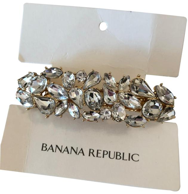 Item - Clear Crystals Clip Hair Accessory