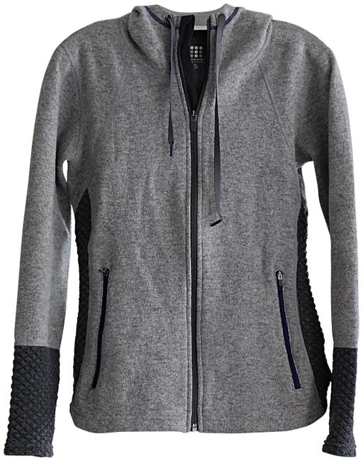 Item - Grey Super Power Honeycomb Pattern Activewear Outerwear Size 6 (S)