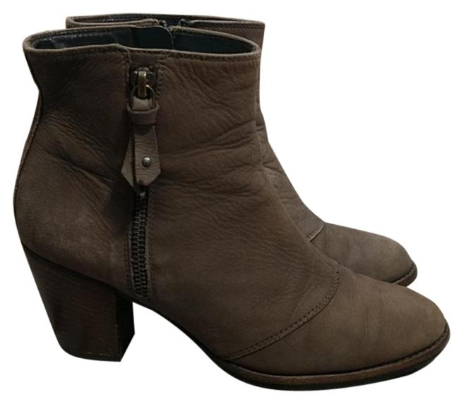 Item - Tan Taupe Leather Ankle Boots/Booties Size US 7.5 Regular (M, B)