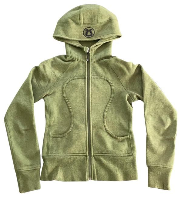 Item - Olive Green Scuba Activewear Outerwear Size 2 (XS)
