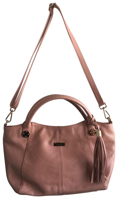 Onna Ehrlich Stacy Tote Rose Light Pink Leather Shoulder Bag Onna Ehrlich Stacy Tote Rose Light Pink Leather Shoulder Bag Image 1