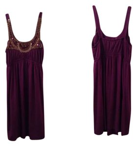 bailey blue short dress purple on Tradesy