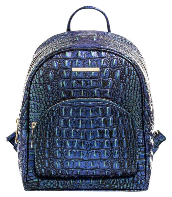 Item - P26151 Mini Dartmouth Mirage Blue Green Melbourne Leather Backpack
