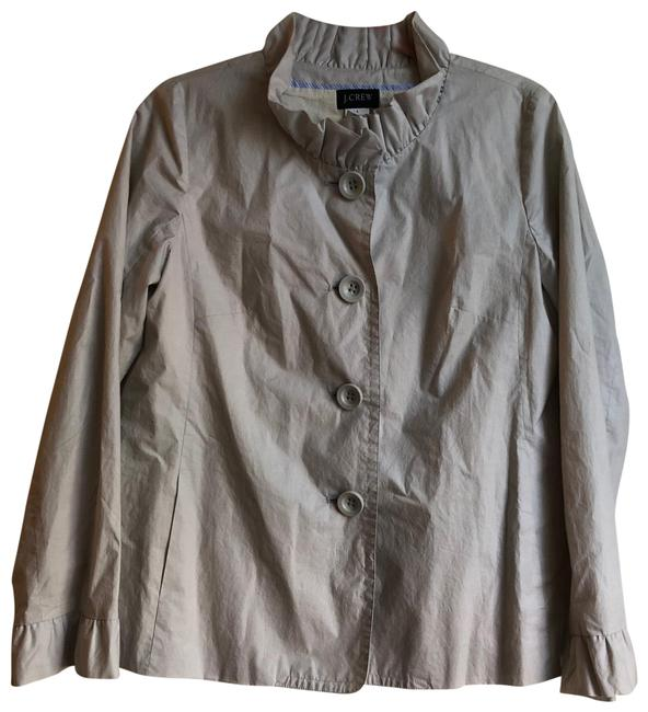 Item - Tan Cotton Lightweight Jacket Size 6 (S)