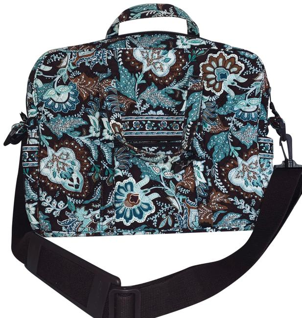 Item - Java Blue Cotton Laptop Bag