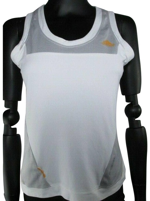 Item - White Athletic Tank Activewear Top Size 8 (M)