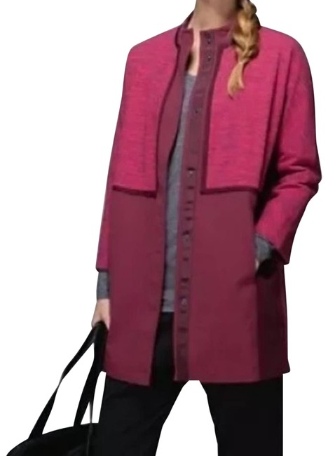 Item - Red Cocoon XS Car Coat Bumble Rust Berry Activewear Outerwear Size 2 (XS)