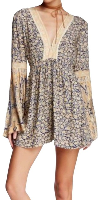 Item - Cream XS 'once Upon A Summertime' Romper/Jumpsuit