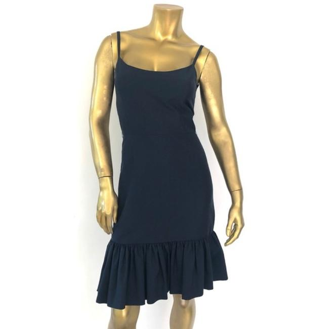 Item - Blue Talitha Midnight Fit And Short Cocktail Dress Size 2 (XS)