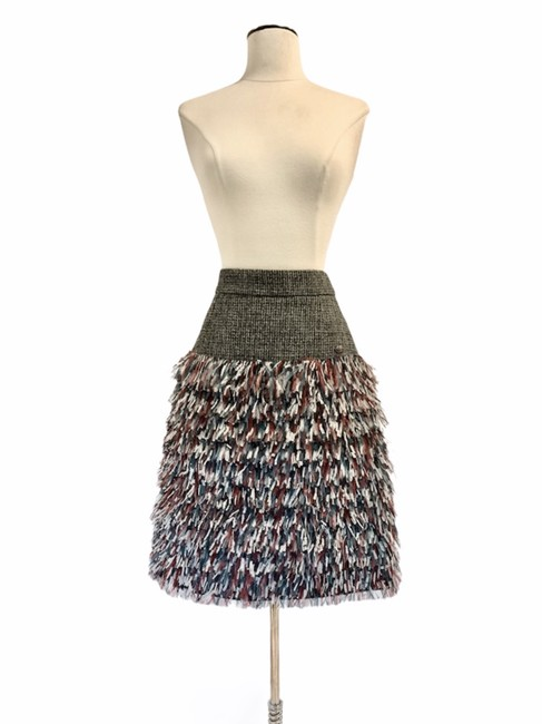Item - Gray Winter Collection Skirt Size 4 (S, 27)