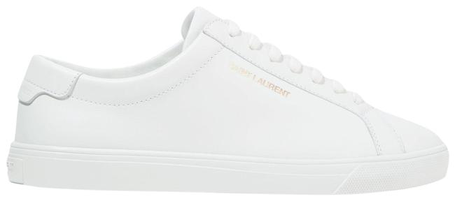 Item - White Andy Leather Sneakers Size EU 35.5 (Approx. US 5.5) Regular (M, B)