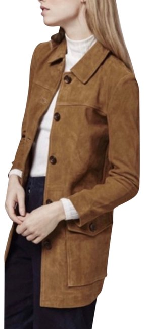 Item - Brown Suede Jacket Size 4 (S)