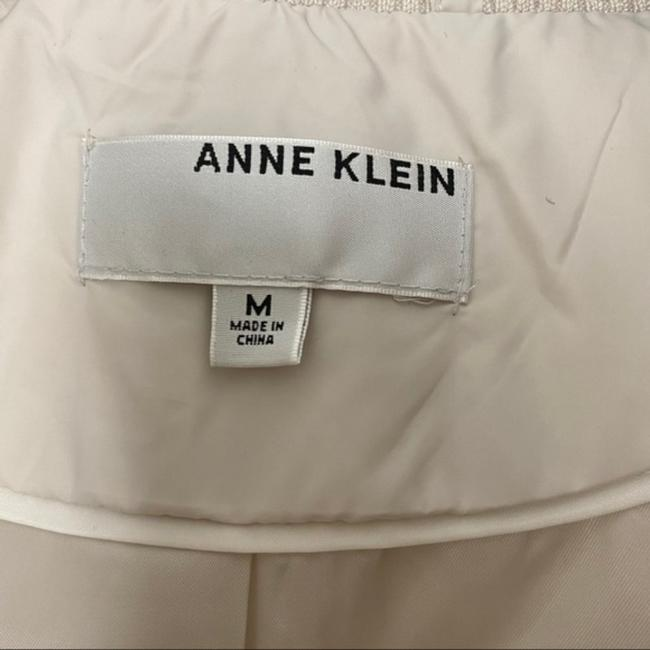 Anne Klein Ivory Faux Fur Trim Quilted In Quartz Coat Size 8 (M) Anne Klein Ivory Faux Fur Trim Quilted In Quartz Coat Size 8 (M) Image 8