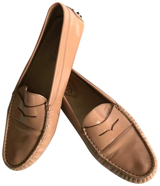 Item - Salmon Pink Gommino Driving Loafer Pumps Size EU 40 (Approx. US 10) Regular (M, B)