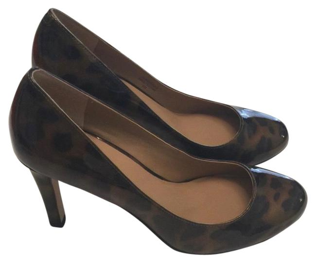 Item - Brown Favian Perfec Leopard Pumps Size US 6 Regular (M, B)