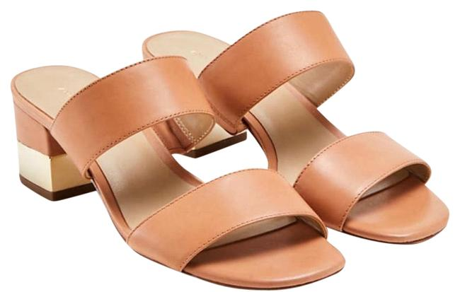 Item - Light Sienna Tan Liv Block Heeled Sandals Size US 6.5 Regular (M, B)