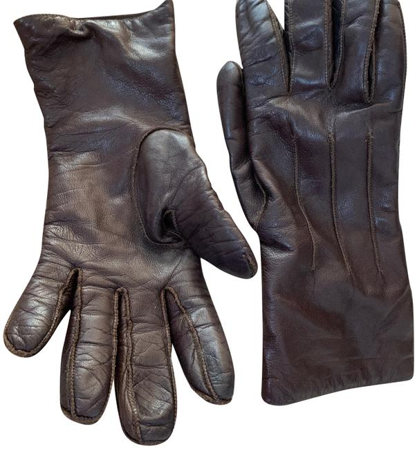 Item - Brown Leather Gloves Size 7