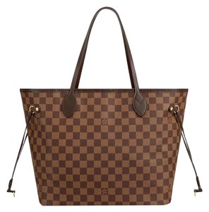 Item - Neverfull Mm Red Damier Tote