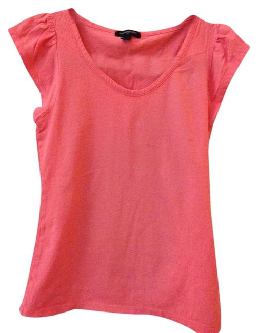 Banana Republic T Shirt Coral/Pink