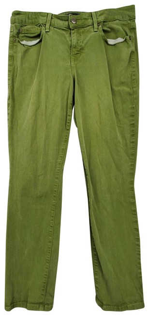 Item - Green Level 99 Lily Straight Skinny Jeans Size 30 (6, M)