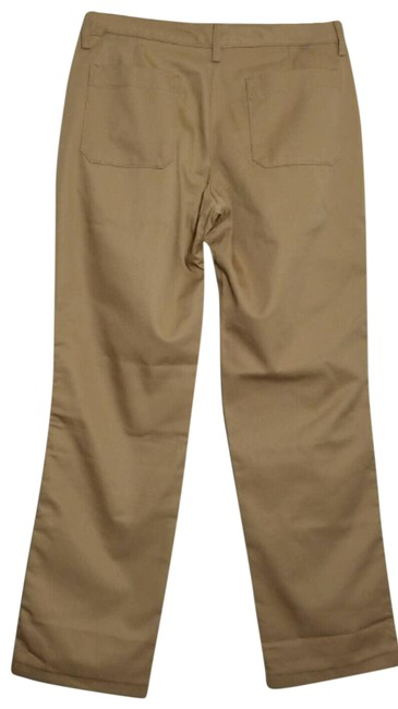 Item - Tan Basic Work Beige Inseam 30 Stain Release Nwot Pants Size 2 (XS, 26)