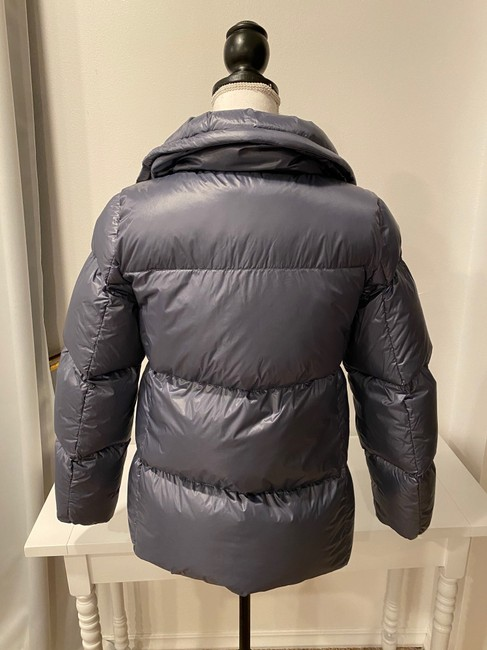 Cole Haan Gray Women's Shimmer Down Jacket Coat Size 4 (S) Cole Haan Gray Women's Shimmer Down Jacket Coat Size 4 (S) Image 5