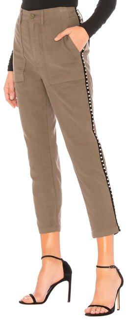 Item - Olive Kirtana Jeweled Utility Pants Size 2 (XS, 26)