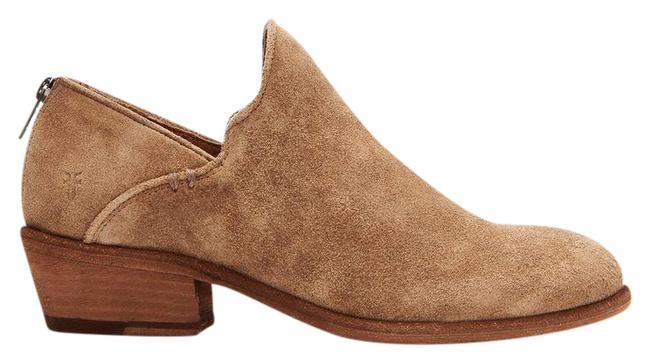 Item - Tan Carson Shootie Beige Suede Ankle Boots/Booties Size US 7 Regular (M, B)