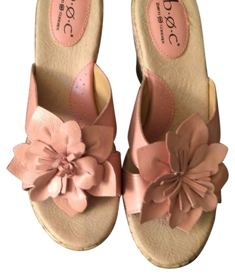 Børn Concept Vacation Church Party Stylish PINK Wedges