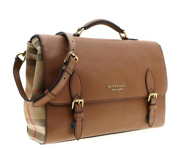 Item - Ethan Briefcase Brown Leather Messenger Bag