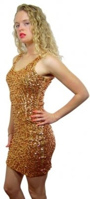 Preload https://item3.tradesy.com/images/farinelli-gold-sequin-mini-cocktail-dress-size-8-m-28437-0-0.jpg?width=400&height=650