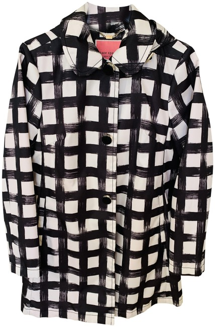 Item - Black and White Coat Size 4 (S)