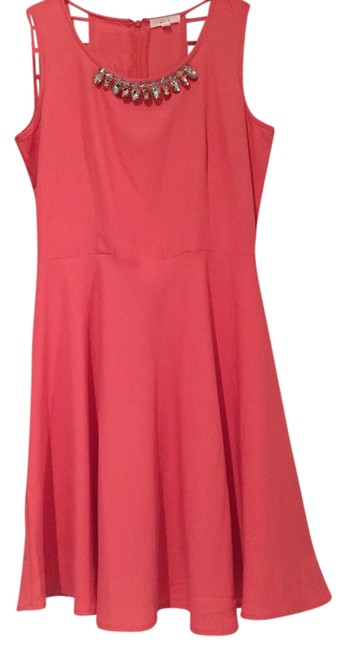 Preload https://item1.tradesy.com/images/mine-dress-coral-2843770-0-0.jpg?width=400&height=650