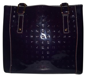 Arcadia Tote in Eggplant/Dark Purple