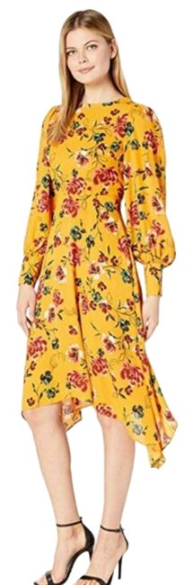 Item - Yellow Gold .. Mid-length Work/Office Dress Size 12 (L)