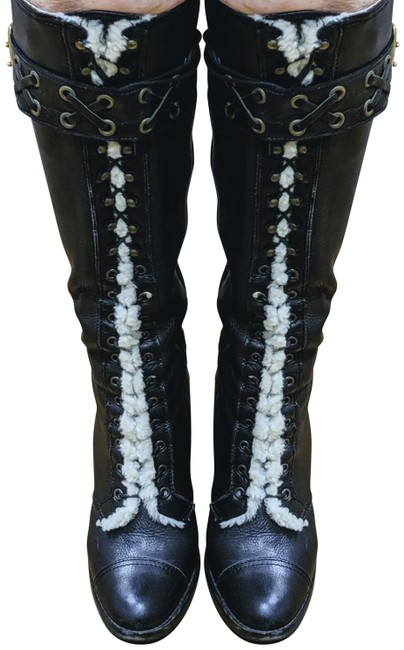Item - Brown Knee-high Leather / Q121 Reece I 06 Boots/Booties Size US 8 Regular (M, B)