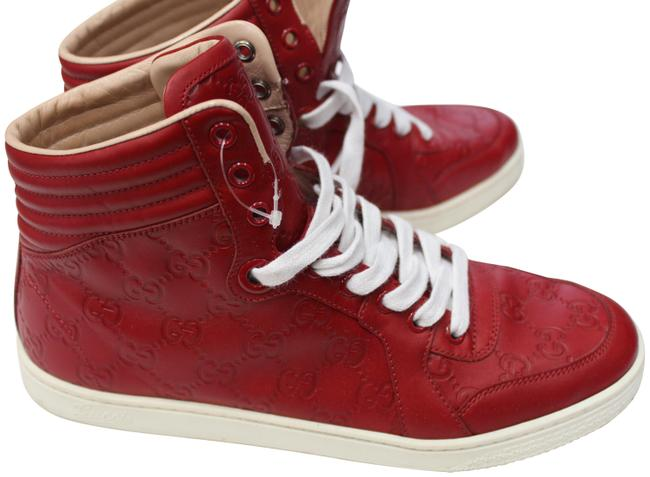 Item - Red High Tops Up 9 9.5 M Unisex Sneakers Size EU 39 (Approx. US 9) Regular (M, B)
