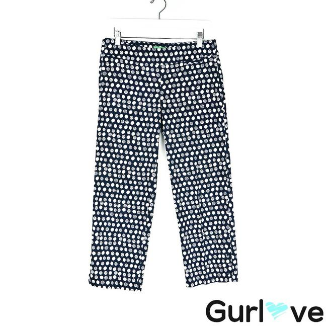 Item - Blue Navy Lemon Palm Beach Pants Size 4 (S, 27)