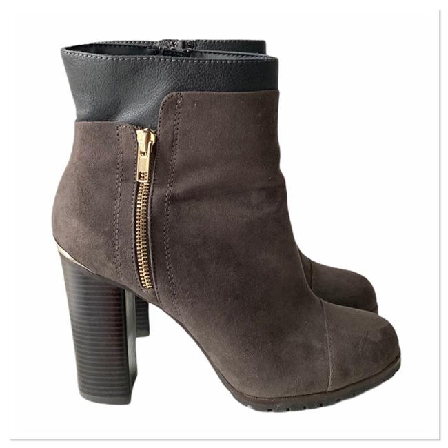 Item - Brown/Gray Charcoal/Brown Suede Ankle Boots/Booties Size US 9.5 Regular (M, B)