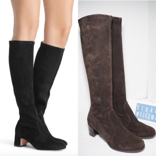 Item - Brown Milla New 60 Knee High Stretch Suede Boots/Booties Size US 8 Regular (M, B)