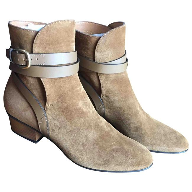 Item - Camel With Leather Straps Boots/Booties Size EU 39 (Approx. US 9) Regular (M, B)