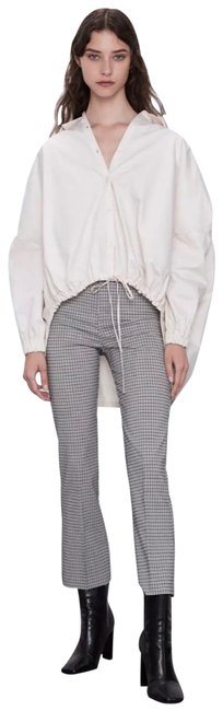 Item - Multicolor Plaid Cropped Flared Pants Size 4 (S, 27)