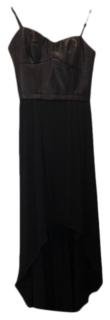 Item - Black Leandra High Long Night Out Dress Size 2 (XS)