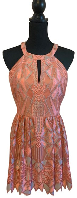 Item - Coral Megyn Short Night Out Dress Size 6 (S)