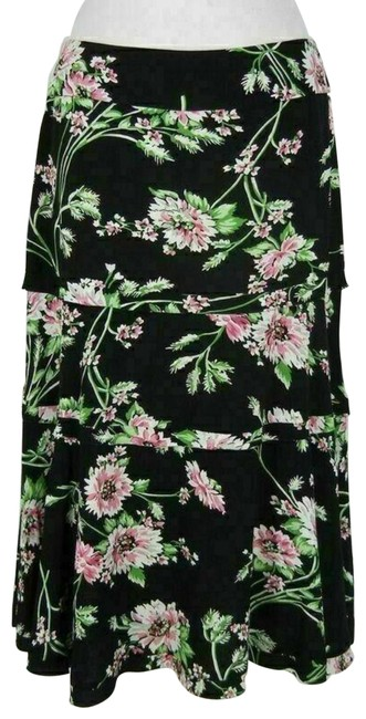 Item - Multi-color Tiered Skirt Size 6 (S, 28)