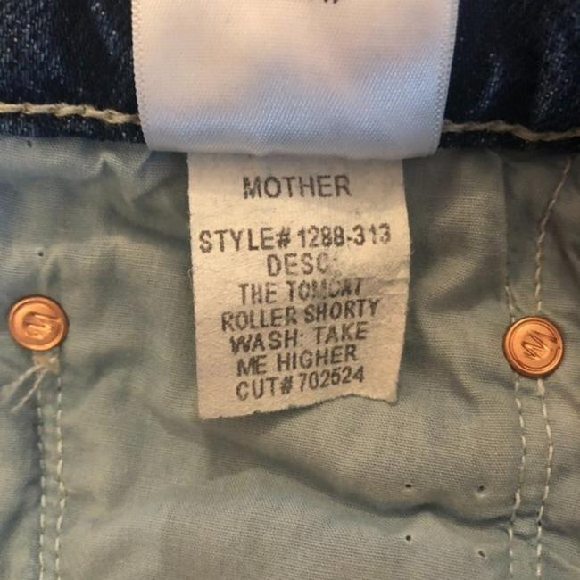 Mother Take Me Higher Medium Wash Superior The Tomcat Roller Shorty Trouser/Wide Leg Jeans Size 24 (0, XS) Mother Take Me Higher Medium Wash Superior The Tomcat Roller Shorty Trouser/Wide Leg Jeans Size 24 (0, XS) Image 12