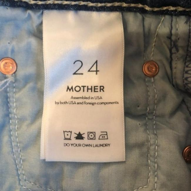 Mother Take Me Higher Medium Wash Superior The Tomcat Roller Shorty Trouser/Wide Leg Jeans Size 24 (0, XS) Mother Take Me Higher Medium Wash Superior The Tomcat Roller Shorty Trouser/Wide Leg Jeans Size 24 (0, XS) Image 7