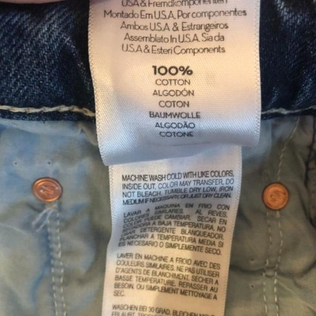 Mother Take Me Higher Medium Wash Superior The Tomcat Roller Shorty Trouser/Wide Leg Jeans Size 24 (0, XS) Mother Take Me Higher Medium Wash Superior The Tomcat Roller Shorty Trouser/Wide Leg Jeans Size 24 (0, XS) Image 8