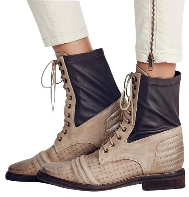 Item - Cream Tan Sounder Lace Up Boots/Booties Size EU 41 (Approx. US 11) Regular (M, B)