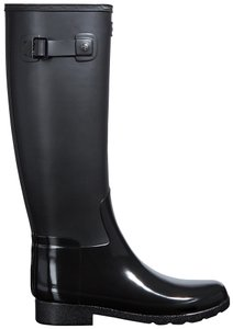 Hunter Rainboots Casual Chic Black Boots